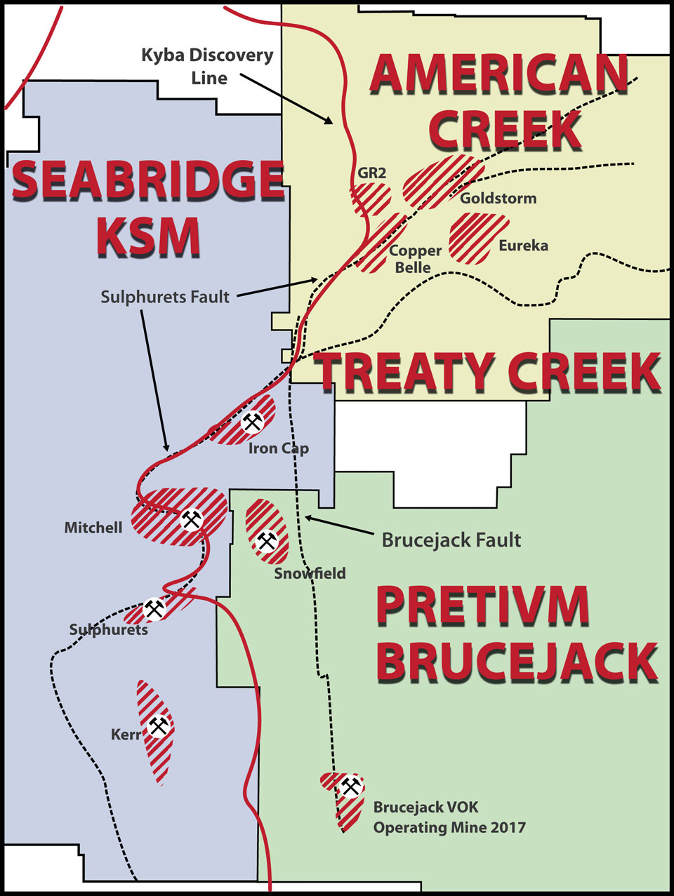 treatycreek map